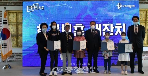 대전지방보훈청은 1일 대전 선샤인호텔에서 '호국보훈 대잔치' 행사를 개최하였다.(사진=대전보훈청 제공)